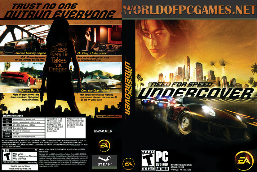 Need For Speed Undercover Free Download PC Game By Worldofpcgames.net