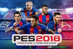 Pro Evolution Soccer 2018 Free Download PC Game By Worldofpcgames.net