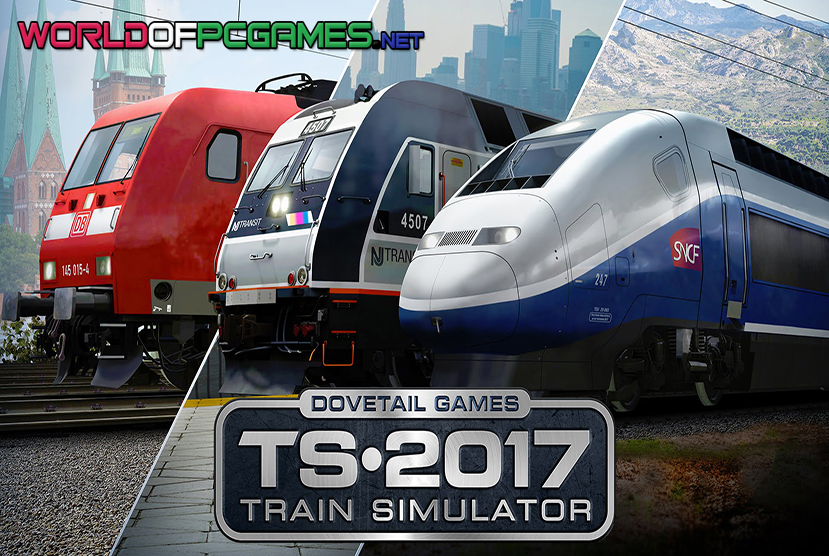 Train Simulator 2017 Free Download PC Game By Worldofpcgames.net