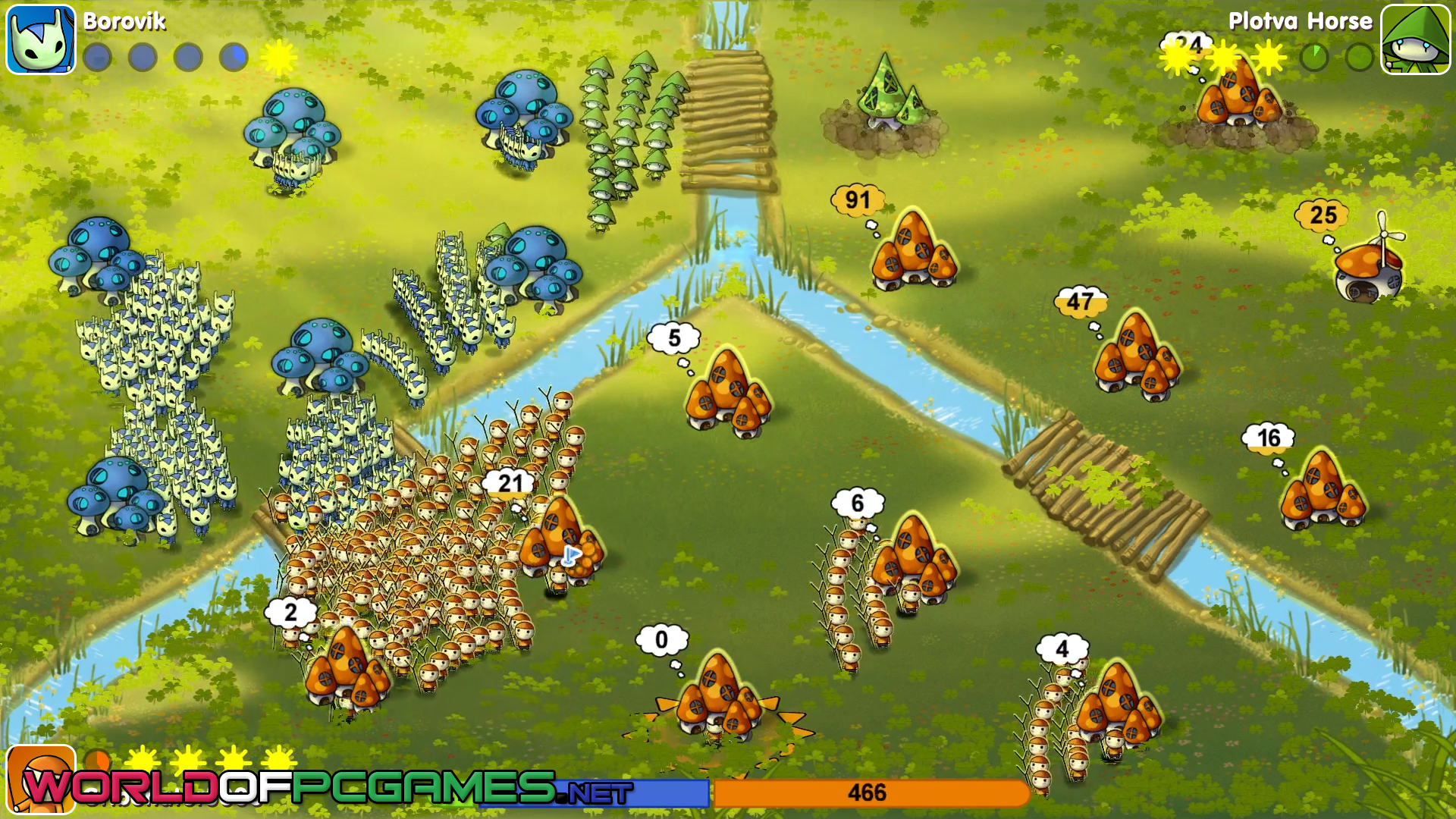 Mushroom Wars 2 Free Download By Worldofpcgames.net