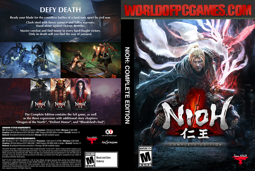 Nioh Free Download PC Game By Worldofpcgames.com