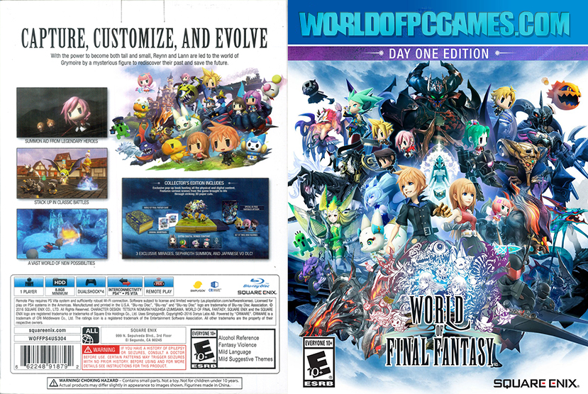 World Of Final Fantasy Free Download PC Game By Worldofpcgames.com