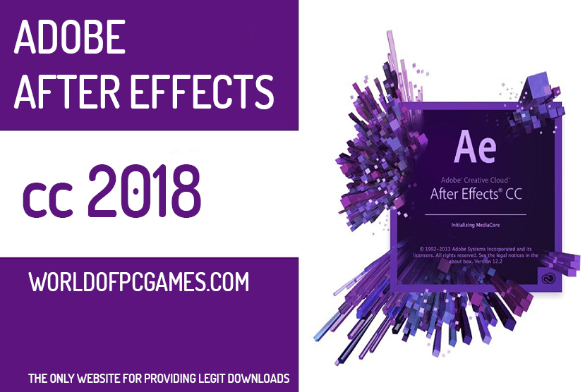 Adobe After Effects CC 2018 Free Download By Worldofpcgames.com