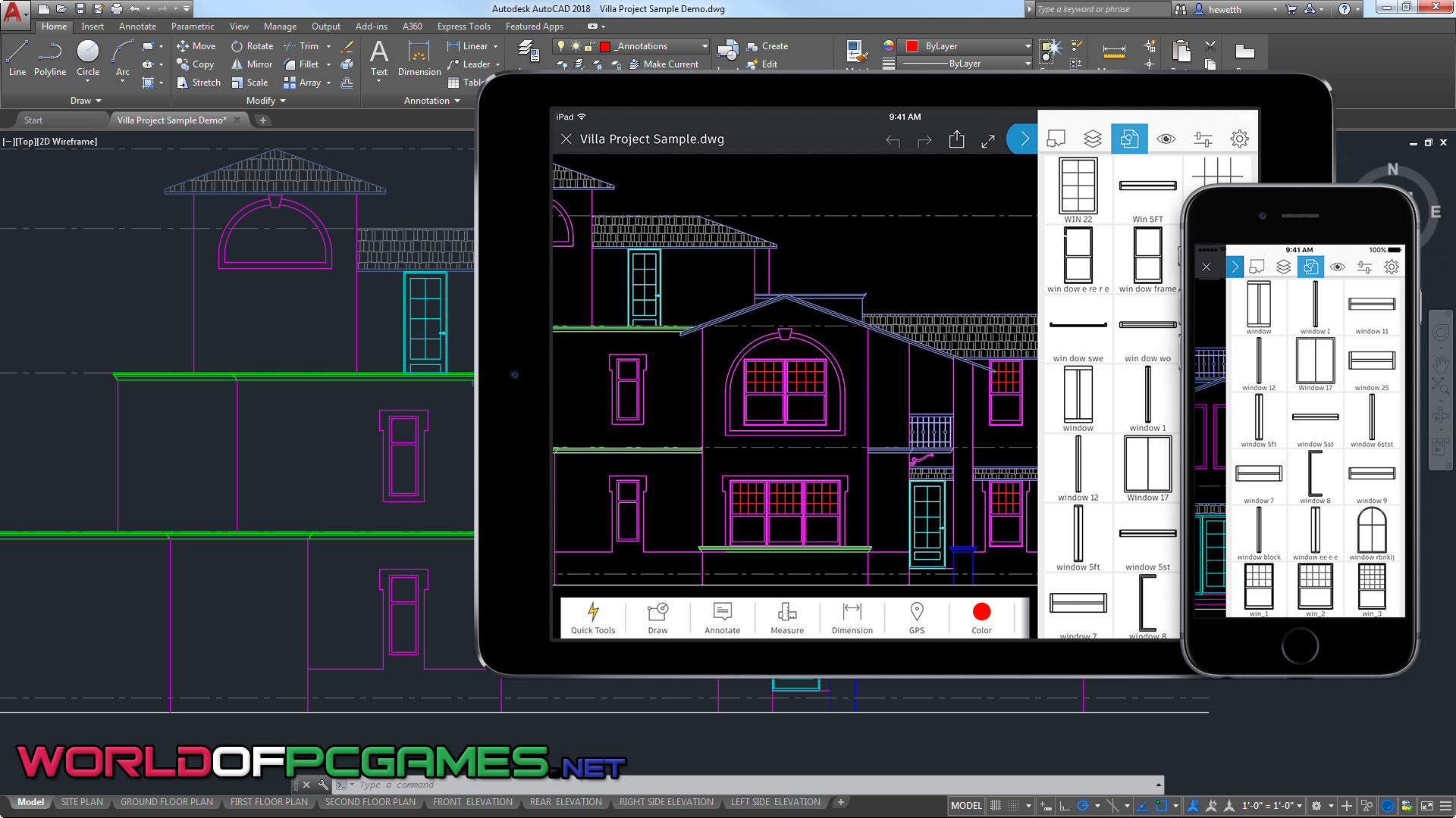 Autodesk AutoCAD 2018 Free Download By Worldofpcgames.com