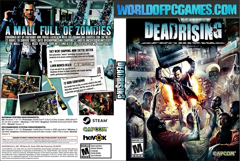 Dead Rising Free Download PC Game By Worldofpcgames.com