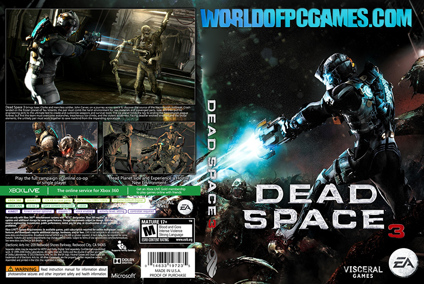 Dead Space 3 Free Download PC Game By Worldofpcgames.com