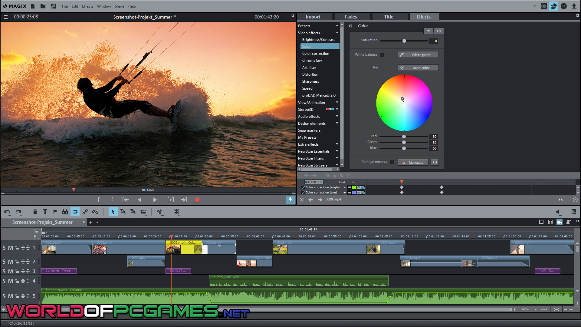 Magix Movie Edit Pro Premium 2018 Free Download By Worldofpcgames.com