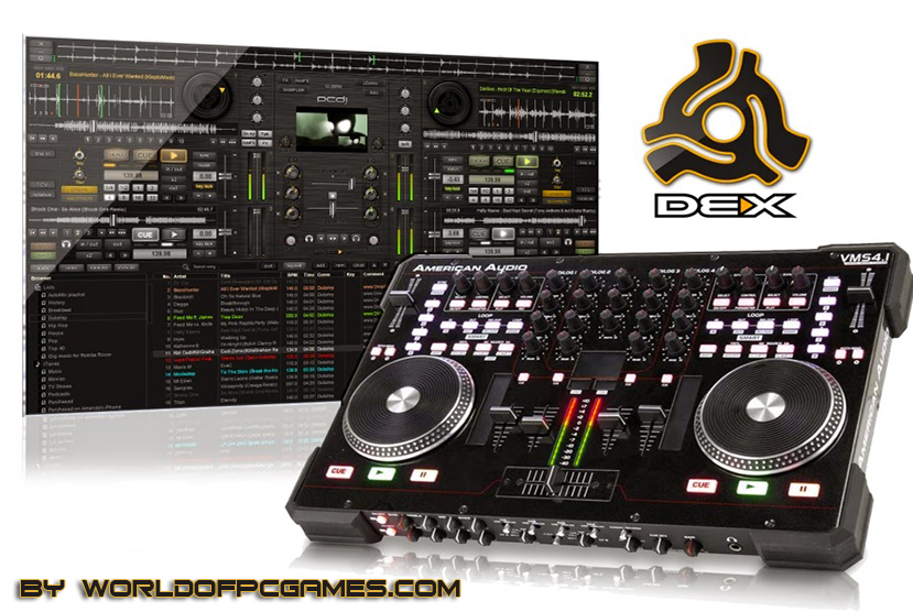 PCDJ DEX 3 Free Download Latest Version By Worldofpcgames.com