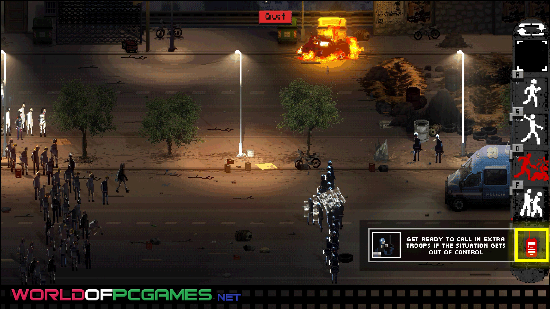 Riot Civil Unrest Free Download PC Game By Worldofpcgames.net