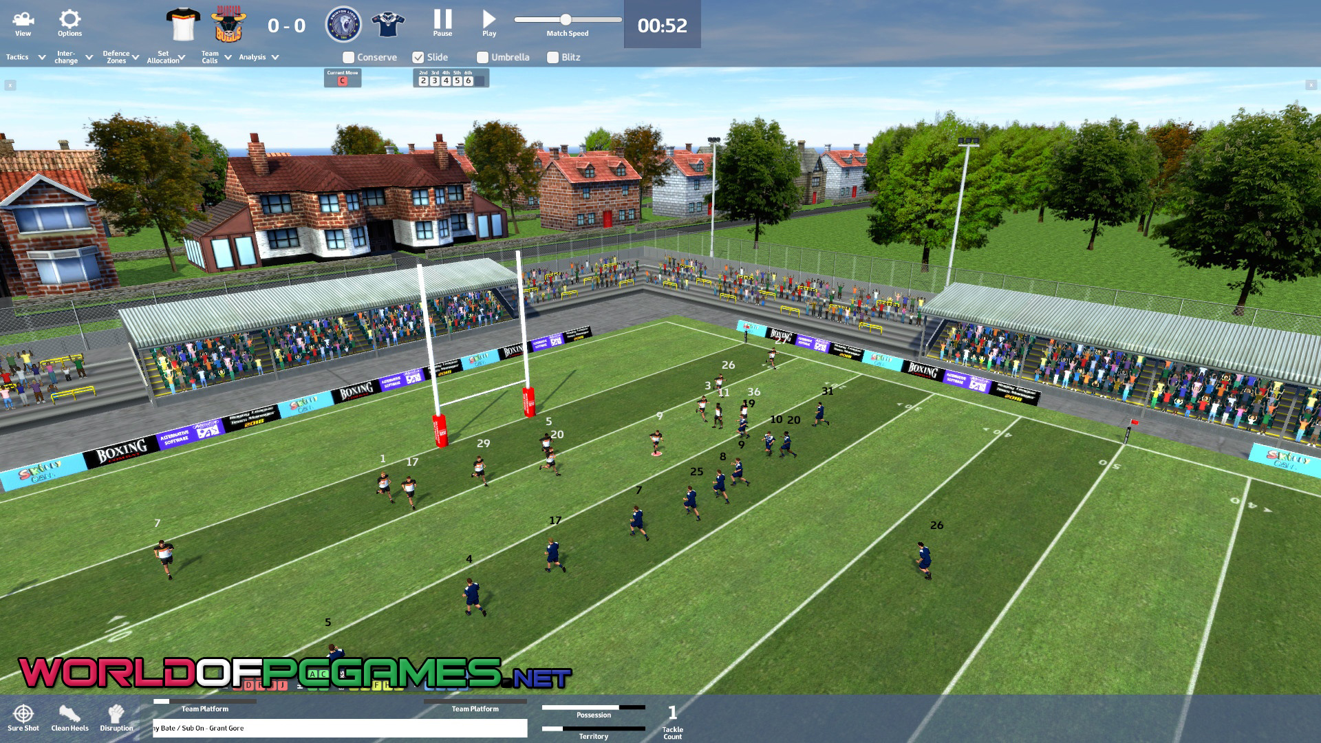 Rugby League Team Manager 2018 Free Download PC Game By Worldofpcgames.com