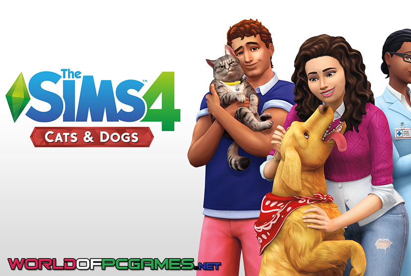 The Sims 4 Cats And Dogs Free Download PC Game By Worldofpcgames.com