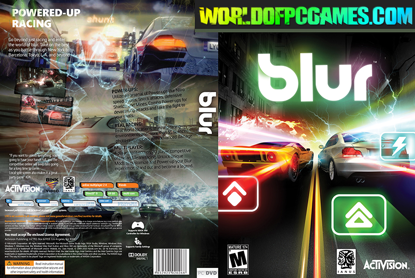 Blur Free Download PC Game By Worldofpcgames.com