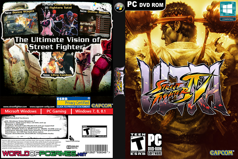 Ultra Street Fighter IV Free Download PC Game By Worldofpcgames.com