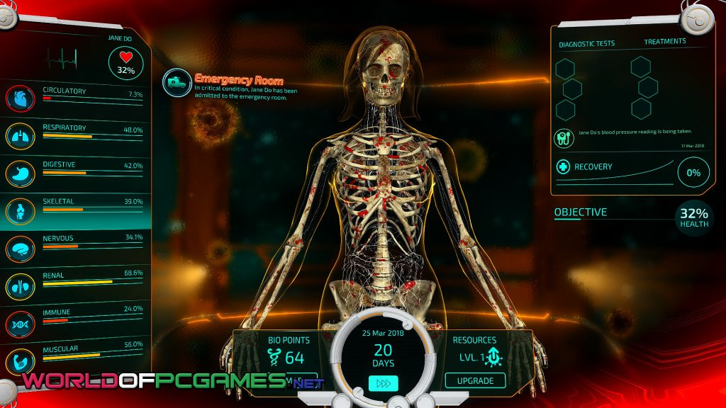Bio Inc Redemption Free Download PC Game By Worldofpcgames.com