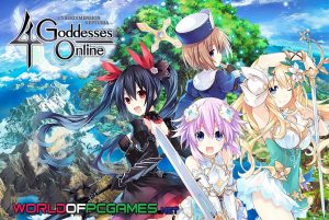 Cyberdimension Neptunia 4 Goddesses Free Download PC Game By Worldofpcgames.com