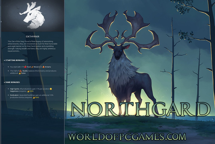 Northgard Free Download PC Game By Worldofpcgames.com