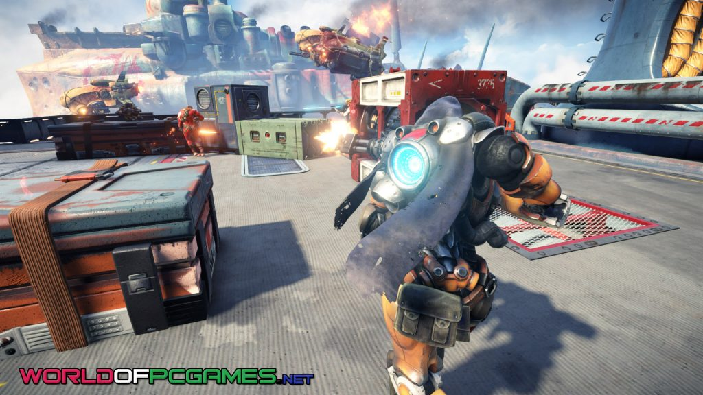 Raiders Of The Broken Planet Free Download PC Game By Worldofpcgames.com