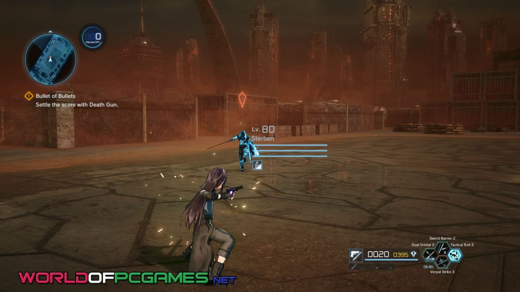 Sword Art Online Fatal Bullet Free Download PC Game By Worldofpcgames.com