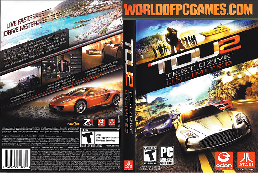 Download game test drive unlimited dilogy pc for free and.
