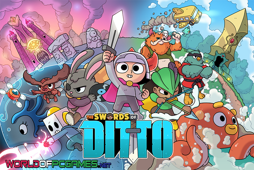 The Swords Of Ditto Free Download PC Game By Worldofpcgames.com