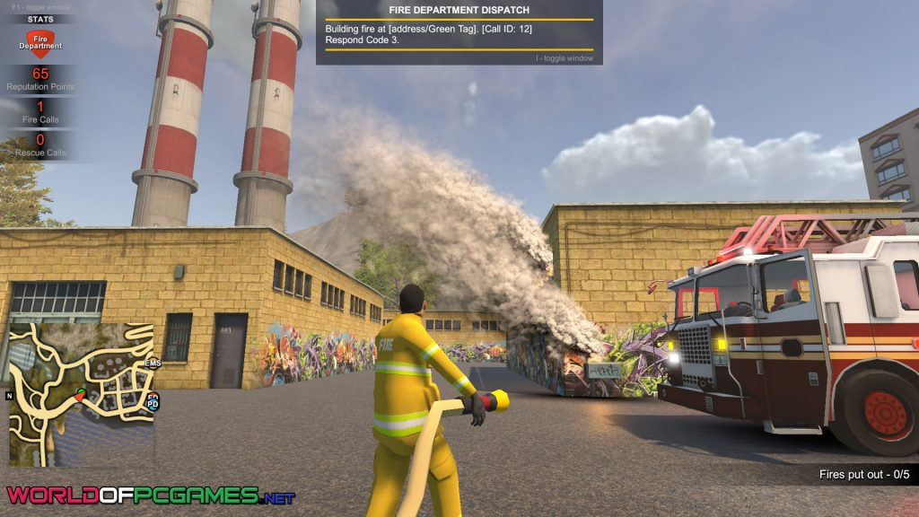 Flashing Lights Police Fire EMS Free Download By Worldofpcgames.com