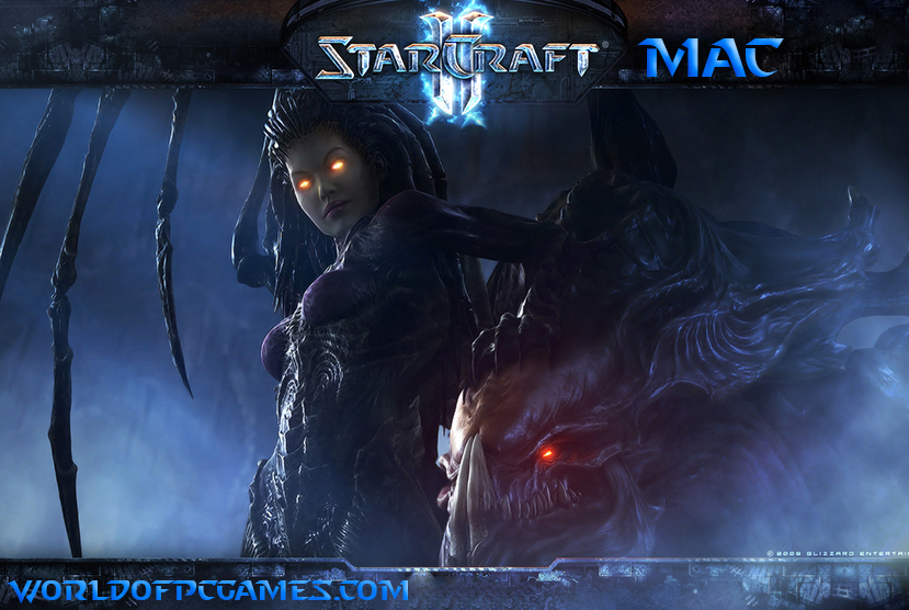 Starcraft II Mac Free Download PC Game By Worldofpcgames.com
