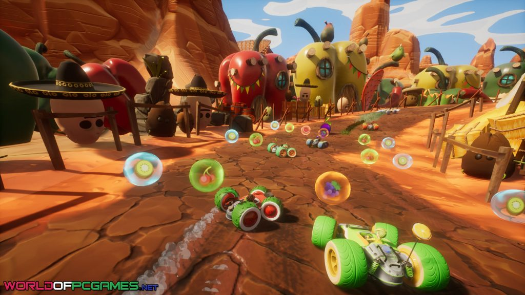 All-Star Fruit Racing Free Download By Worldofpcgames.com