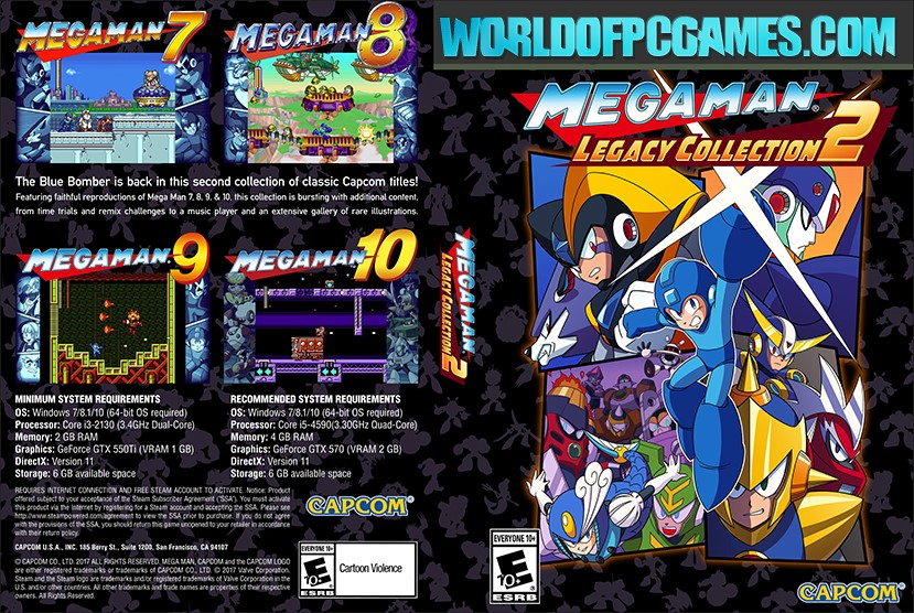 Mega Man X Legacy Collection 2 Free Download PC Game By Worldofpcgames.com