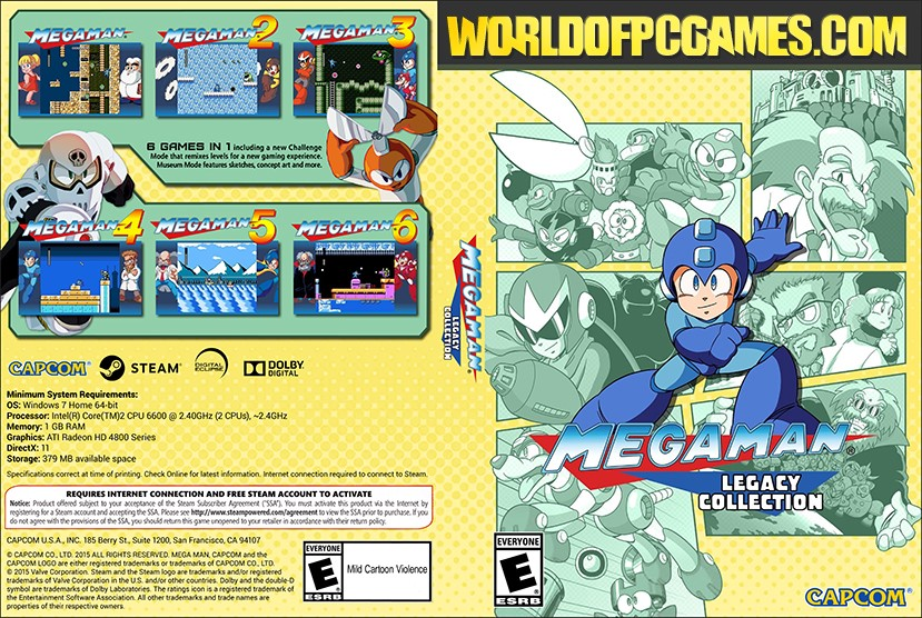 Mega Man X Legacy Collection Free Download PC Game By Worldofpcgames.com