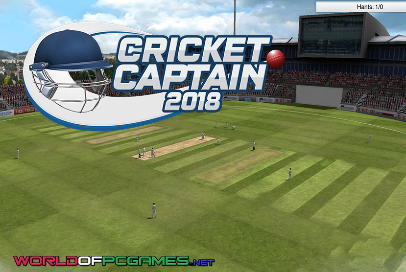 Cricket Captain 2018 Free Download PC Game By Worldofpcgames.co
