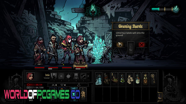 Darkest Dungeon The Color Of Madness Free Download By Worldofpcgames.co