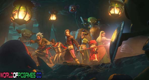 Dragon Quest XI Echoes of an Elusive Age Free Download PC Games By Worldofpcgames.co