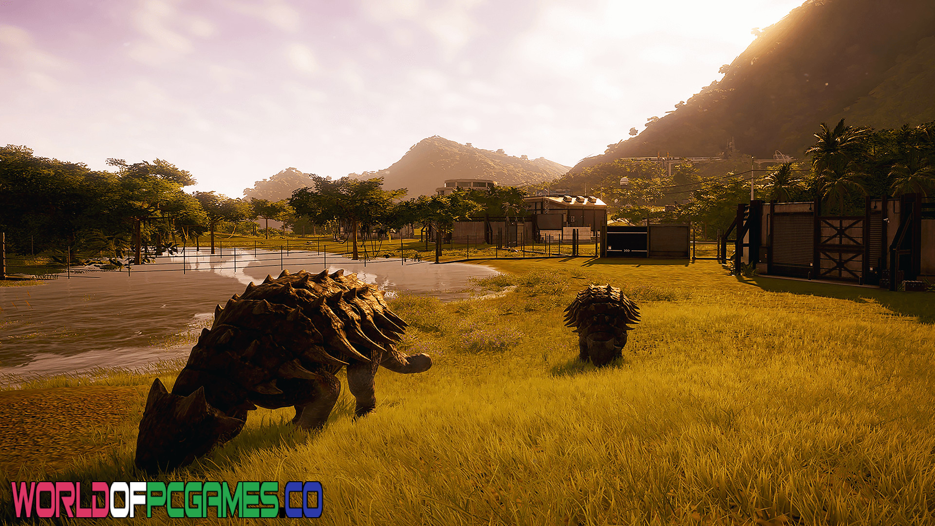 Jurassic World Evolution Free Download PC Games By Worldofpcgames.co