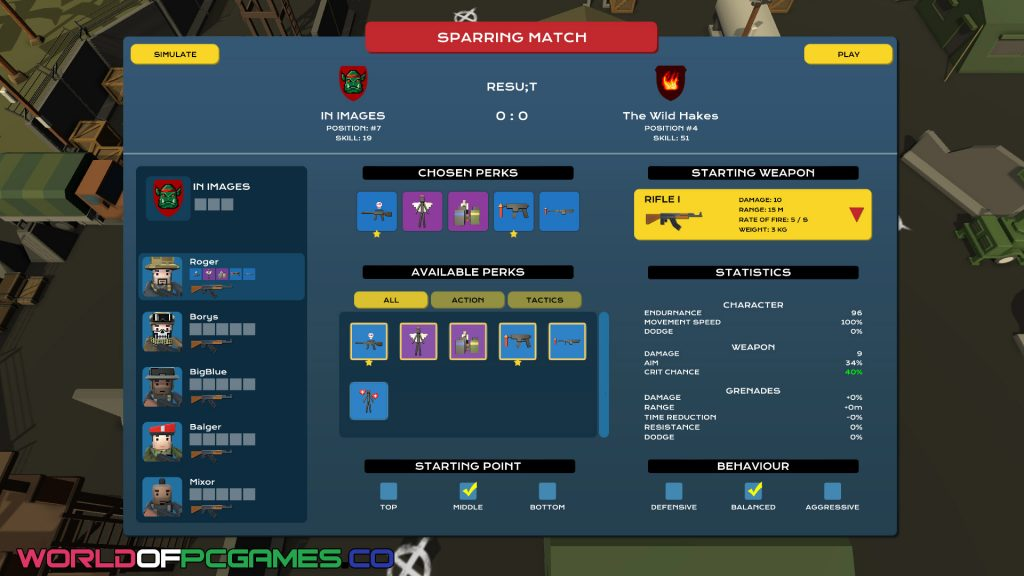 ESport Manager Free Download PC Game By Worldofpcgames.co