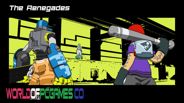 Lethal League Blaze Free Download PC Games By Worldofpcgames.co