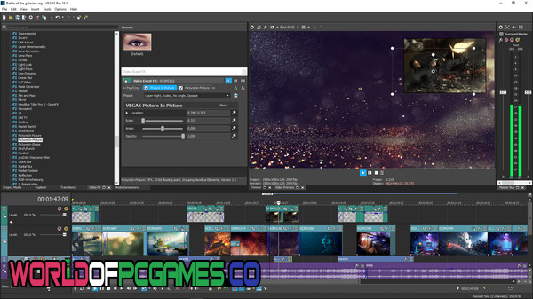 Sony Vegas Pro 16 Free Download PC Games By Worldofpcgames.co