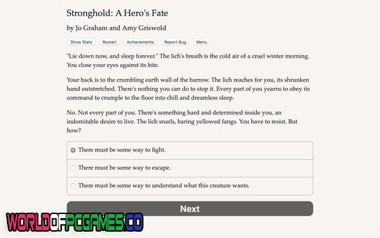 Stronghold A Hero's Fate Free Download PC Game By Worldofpcgames.co