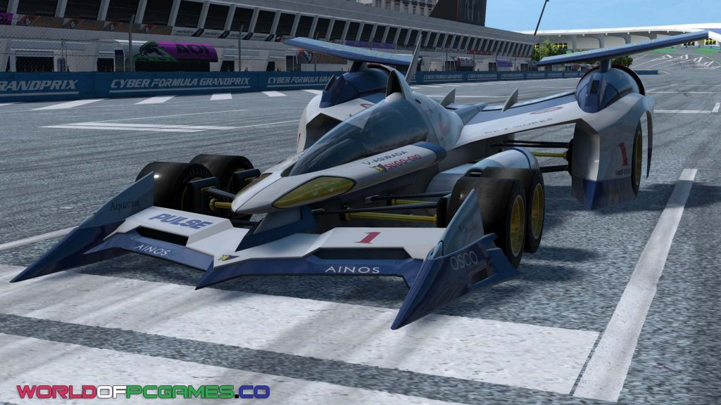 Future GPX Cyber Formula Sin Vier Free Download PC Game By Worldofpcgames.co