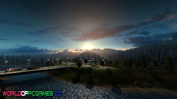 Euro Truck Simulator 2 Mac OS Free Download PC Game By Worldofpcgames.co