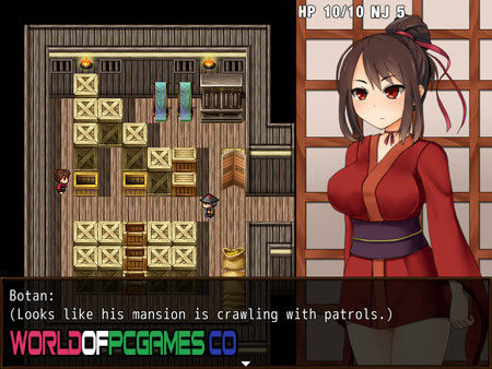 Kunoichi Botan Free Download PC Game By Worldofpcgames.co