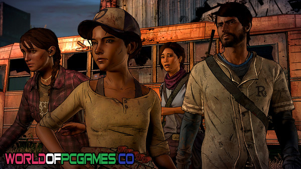 The Walking Dead A New Frontier Free Download PC Game By Worldofpcgames.co