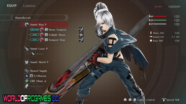 God Eater 3 Free Download PC Game By Worldofpcgames.co