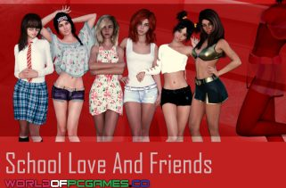 School Love And Friends Free Download PC Game By Worldofpcgames,co