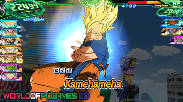 Super Dragon Ball Heroes World Mission Free Download PC Game By Worldofpcgames.co