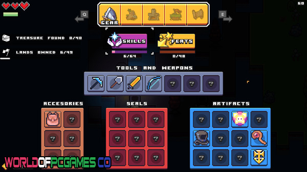 Forager Free Download PC Game By Worldofpcgames.co