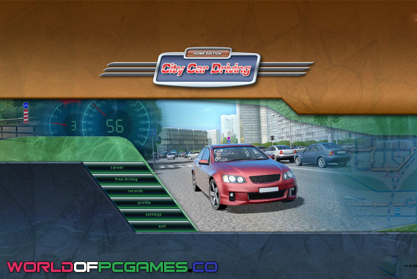 City Car Driving Free Download By Worldofpcgames.co