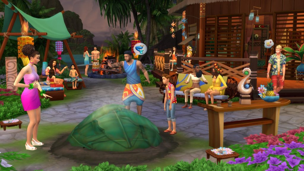 The Sims 4 Island Living Free Download By Worldofpcgames.co