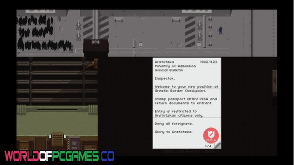 Papers Please Free Download PC Game By Worldofpcgames.co