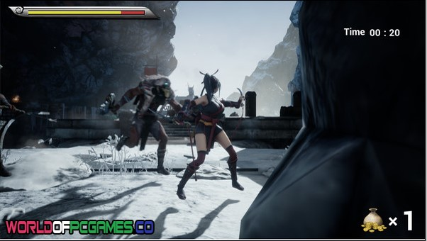 Dual Blade Battle Of The Female Ninja Free Download By Worldofpcgames.co