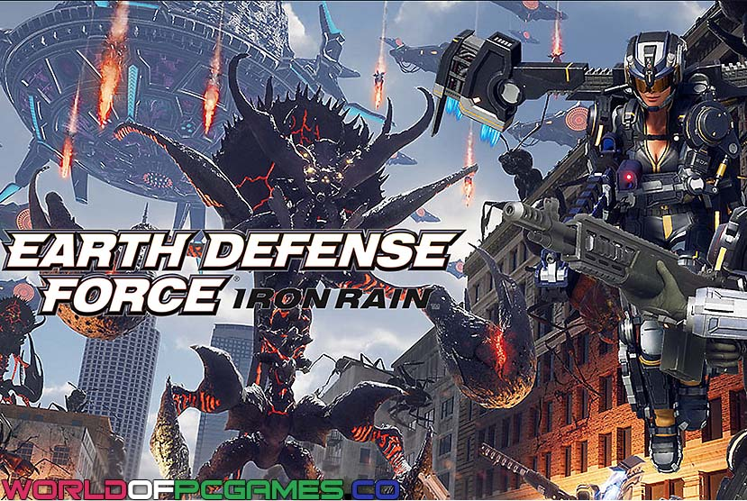 Earth Defense Force Iron Rain Free Download By Worldofpcgames